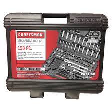 craftsman 193 piece mechanics tool sets 00939484 socket sets
