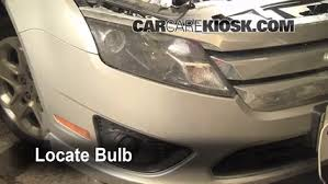 2012 ford fusion tail light bulb fog light replacement 2010 2012 ford fusion 2010 ford fusion se
