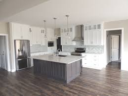 grey stained kitchen cabinets diy white painted cabinets with grey stained island stainless
