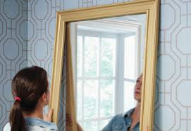 Frameless Mirror Bathroom by Hanging A Bath Mirror At The Home Depot