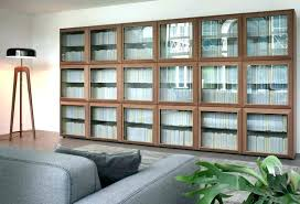 tall bookcase with glass doors book shelves with glass doors