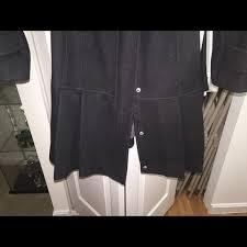 95 off calvin klein jackets u0026 blazers calvin klein black wool