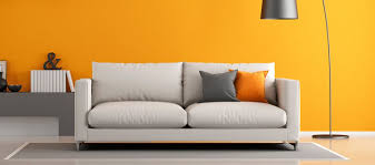 Living Room With Sofa How Color At Home Affects Your Mood Pause The Zeel Blog