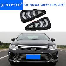 1999 toyota camry turn signal light assembly qcbxyyxh led daytime running l for toyota camry 2015 2017 turn