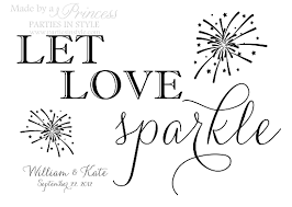 wedding signs template let sparkle sparkler wedding reception sign