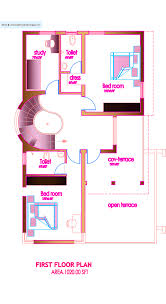 2000 Sq Ft House Floor Plans by Architecture Beautiful Ideas Floor Plan With Master Bedroom And