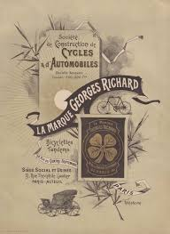 citroen siege social telephone 1900 bicyclette routiere georges richard the bicycle museum