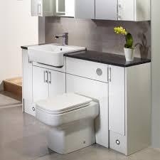 Bathroom Furniture White Gloss Vetro White Gloss Fitted Bathroom Furniture Roper Regarding