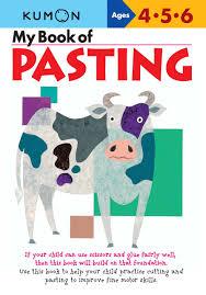 Kumon Worksheets Pdf Amazon Com My Book Of Pasting Kumon Workbooks 9781933241029