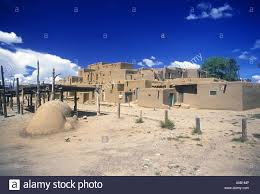 adobe homes taos pueblo taos new mexico usa stock photo royalty