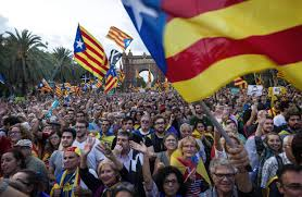middle class catalans drive push for independence wsj