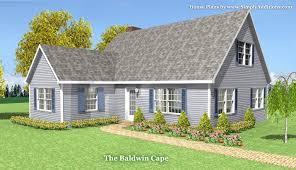 cape home plans baldwin modular cape house plans