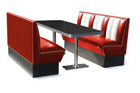 diner style booth table air hollywood six seater booth set 150cm
