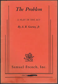 the dining room by a r gurney the problem a play in one act a r gurney jr 9780573624186