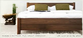 Walnut Bed Frames Get Laid Beds The Bed
