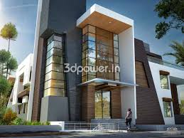 best house 3d interior exterior design rendering modern architect