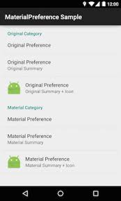android preferences the android arsenal preferences a categorized directory of