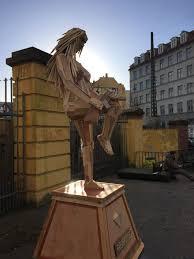 scrap wood sculpture artist creates impressive sculptures from scrap wood