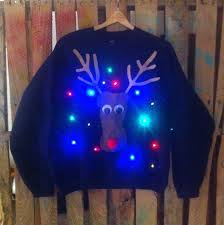 mens light up ugly christmas sweater christmas sweaters that light up best dresses collection design