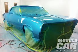 Car Paint by 1967 Chevrolet Chevelle Acrylic Urethane Paint Job Muscle Car