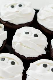 Easy Halloween Cup Cakes by Mummy Halloween Cupcakes Sugar U0026 Soul
