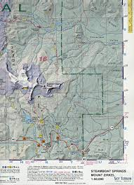 Colorado Game Unit Map by Steamboat Springs Mount Zirkel Trail Map 3rd Edition Sky Terrain