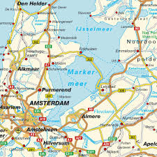 Map Of Holland Map Of The Netherlands Holland Maps And Directions At Map