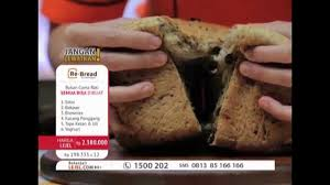cara membuat roti bakar jari re bread maker live lejel 3 oktober 2015 youtube