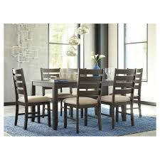 ashley dining table and chairs dining table set brown signature design by ashley target