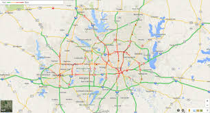 Dallas Radar Map by Winter Weather Vs Dfw Traffic