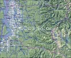 seattle map green lake king county wa zip codes seattle zip code map