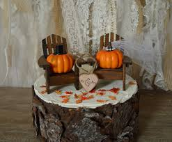 fall wedding cake toppers pumpkin fall autumn wedding cake topper themed thanksgiving