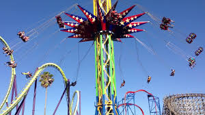Six Flags Valejo Skyscreamer Off Ride Six Flags Discovery Kingdom Youtube