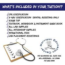 what s included course information morrison education center