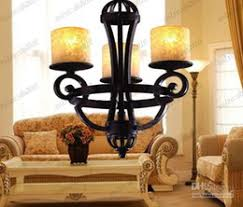 Rustic Candle Chandelier Discount Modern Wrought Iron Candle Chandelier 2017 Modern