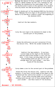 dividing two decimals with a repeating answer