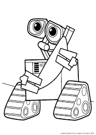 walle coloring pages wall e colorator net сoloring pages for children page 4