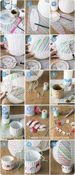 How To Make Paper Air Balloon Lantern - paper lantern air balloon diy for