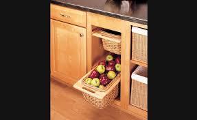 panier coulissant pour meuble de cuisine panier coulissant en osier pour armoires de cuisine rangement pour