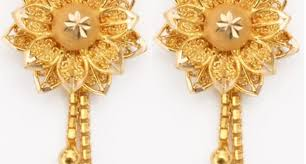 images of gold ear rings gold earrings for women designs hd images quality backgrounds