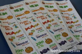 Halloween Stickers Printable by Halloween Candy That U0027s Good For You Free Printable Happy Home
