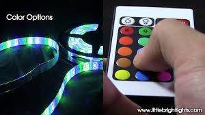 led flexible light strip 16 ft 300 leds multi function multi color you