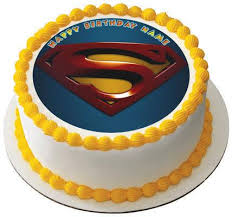 superman cake toppers superman logo edible birthday cake or cupcake topper edible