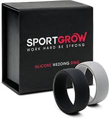 Workout Wedding Rings by Wedding Rings Athletic Wedding Rings Mens Rubber Wedding Ring
