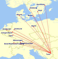 Turkish Airlines Route Map by Bosnia And Herzegovina Aviation News