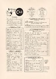 restaurant menu design clá hotel carmela alvarado art and