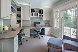 Above Cabinet Storage Rebeccas Office Look Dc Metro Transitional Home Office Remodeling