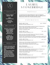 unique resume templates 10 winning resume templates for a career in fashion