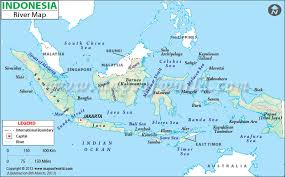 world rivers map shapefile in indonesia map