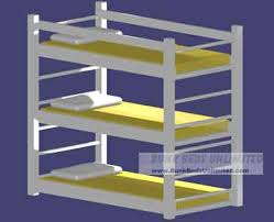 Bunk Beds Unlimited My Fathers Triple Bunk Bed Plans Th - Triple bunk bed plans kids